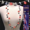 patriotic light up star necklace